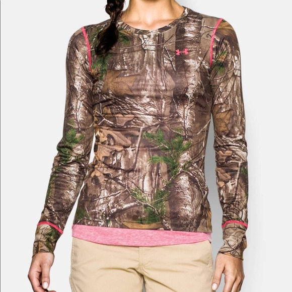 c6225909 Under Armour Tops | Evo Camo Hunting Long Sleeve Shirt | Poshmark